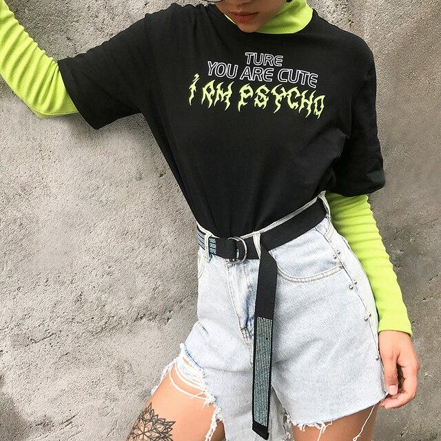 Turtleneck sweatshirt in two contrast colors