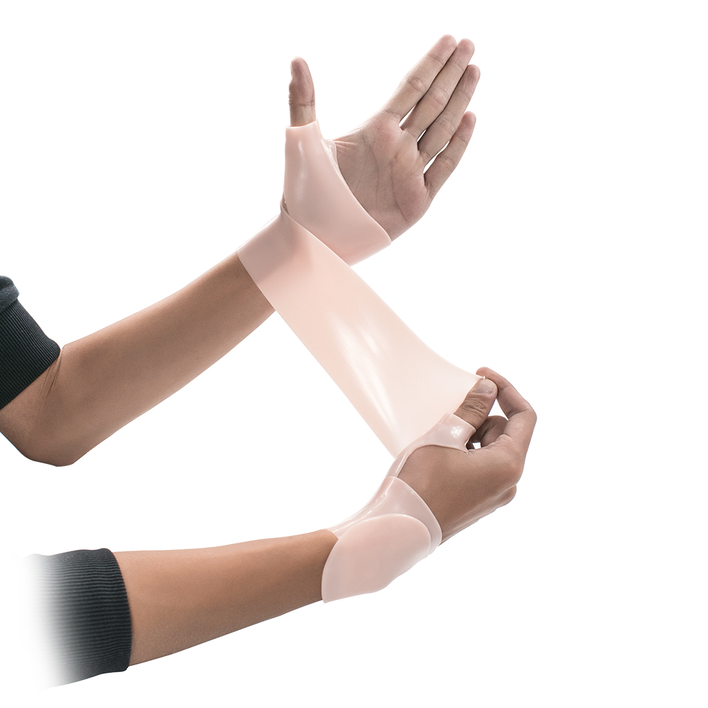 1 Piece Silicone Gel Thumb Wrist Support Glove Tenosynovitis Spasms Brace Wrap For Hand Care Spasms Arthritis Brace Wrap Sleeve