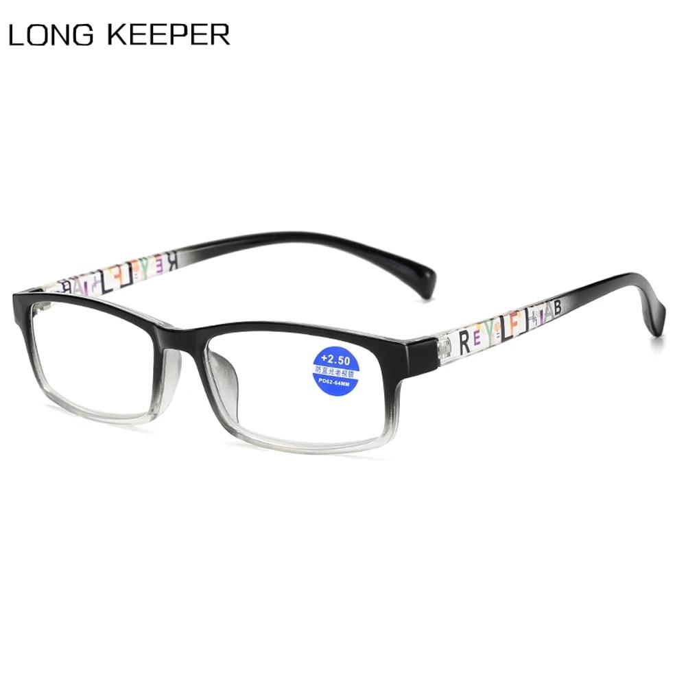 Unisex Reading Glasses Women Men Classic Square Computer Eyewear ...