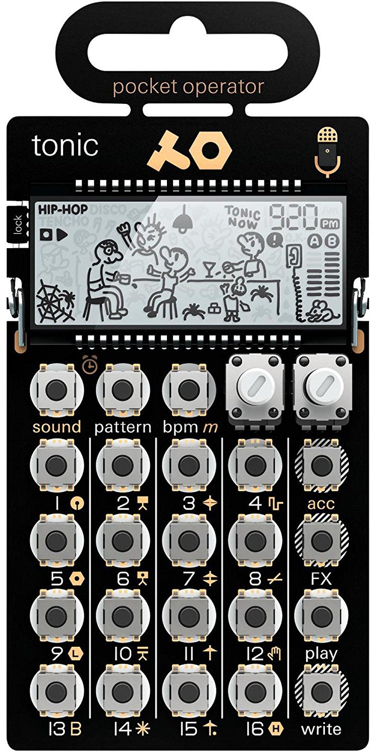 Teenage engineering po-32 tonic drum and percussion pocket synthesizer