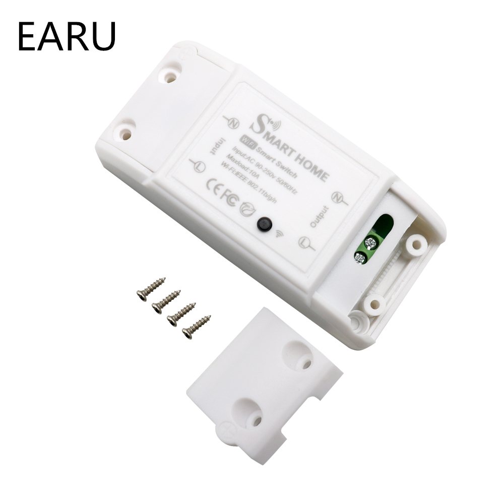 DIY Smart Home House Wifi Wireless Remote Switch Domotica LED Light Controller Module for Alexa Google Home Smartlife Tuya APP 3