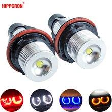Светодиодсветодиодный габаритные огни «ангельские глазки», 2 шт., лампы для E39 E53 E60 E61 E63 E64 E65 E66 E87 525i 530i xi 545i M5 без ошибок, 2*5 Вт
