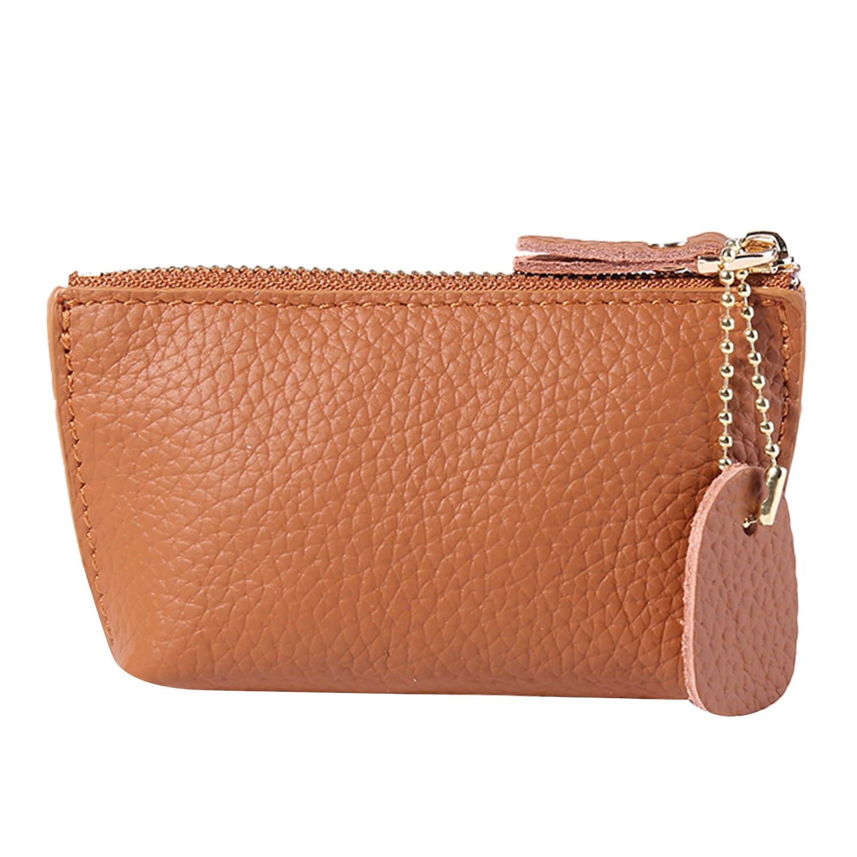 bolsa de couro genuíno carteira feminina moda