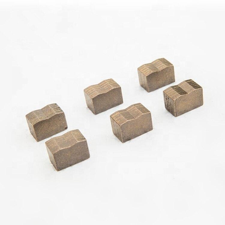 DS18 Factory Prices Sharp Diamond Segments 940mm 1200mm 1350mm 1600mm Multi Blades Segments For Hard Granite Bolck Two Sets