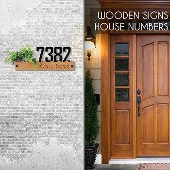 Floating House Number Letters 127mm Big Modern Door Alphabet Home Outdoor Number