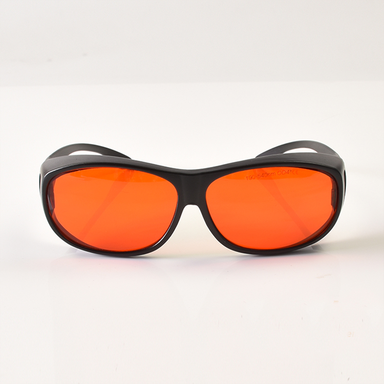 O.D 6+ 405nm 450nm 473nm 515nm 520nm 532nm Laser Safety Glasses With Ce Certificate