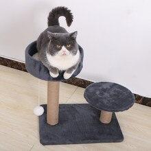 Griffoir pour chat maison escalade sisal grattoir chat marchandises mur meubles tour d'arbre condo meuble echelle pour chats jouets