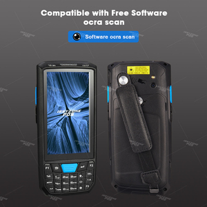 Image 3 - Issyzonepos Handheld Pda Android 8.1 Barcode Scanner 1D 2D Bar Code Reader Data Collector Pos Terminal Magazijn Levering Pda