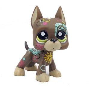 Магазин домашних животных милые игрушки настоящие Редкие стоячие короткие волосы кошка белый розовый 2291 черный 994 Собака Такса 325 колли Грейт дайн