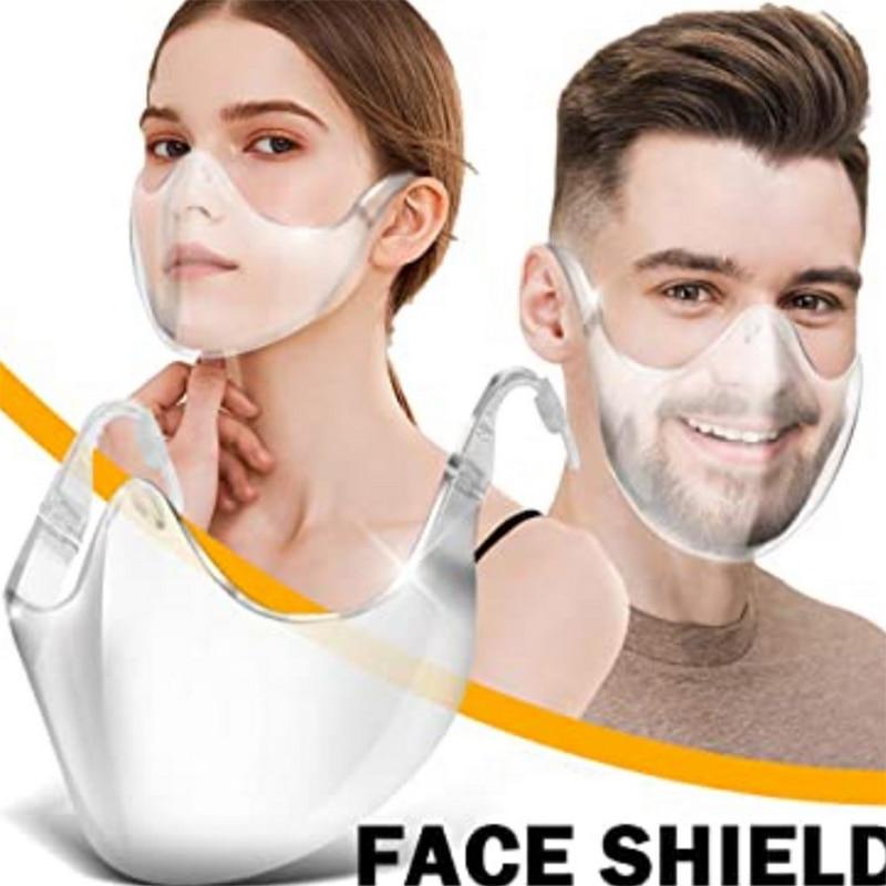 Reusable Transparent Face Shield