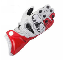 NEW 3 Colors Alpine GP Leather Black from Moto Heaven Red/white Motorcycle Leather Gloves Road Bike Racing Riding Track