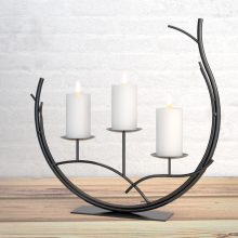 Candle Stand Wedding Candlestick Candelabra Fashion Romantic Dining Table Wedding Home Decoration Handmade Candle Holder