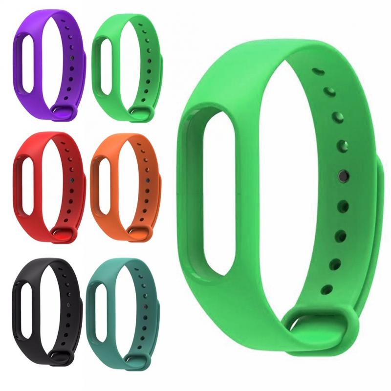For Mi Band 1a 1s Sports Silicone Wristband Replacement Strap Smart Watch Colorful Fashion Bracelet