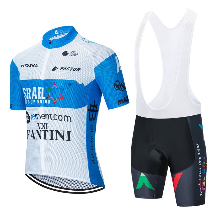 New team ISRAEL VINI FANTINI cycling jersey 20D bike shorts set Ropa Ciclismo MENS 2020 summer BICYCLING Maillot bottom clothing image