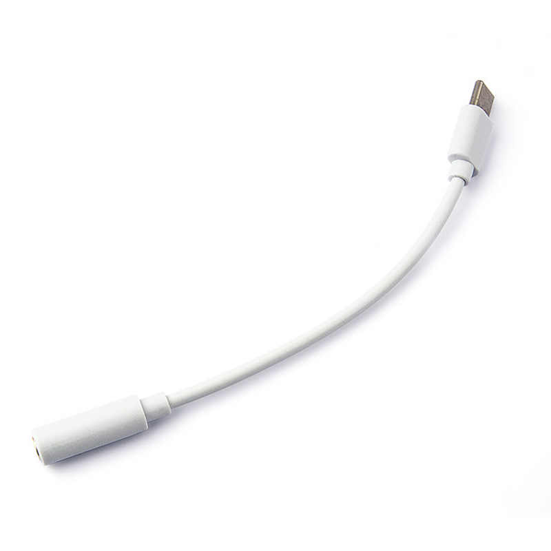 Type-C ถึง 3.5 มม.หูฟังสายเคเบิลอะแดปเตอร์ USB 3.1 ประเภท C USB-C ชาย 3.5 AUX Audio หญิงแจ็คสำหรับ Xiaomi 6 Mi6 Letv 2 Pro 2 Max2