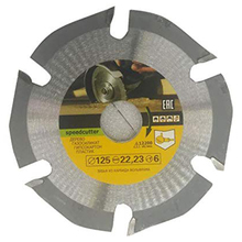 125mm 6T Circular Saw Blade Multitool Grinder Saw Disc Carbide Tipped Wood Cutting Disc Carving Disc Blades for Angle Grinders 115 125mm grinder curved work cutting tools carbide grinder disc angle grinder chain saw disc blade wood carving disc for angle