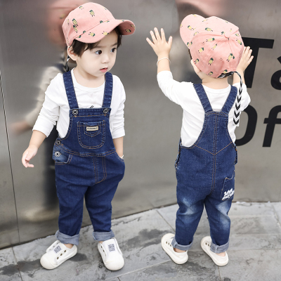 Spring Autumn Baby Boys Denim Jumpsuit Pants Kids Romper Clothes Small Kids  Boy Overall Jeans Pants Boys Denim Jumpsuits Costume|Overalls| - AliExpress