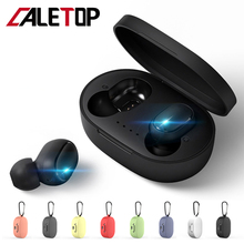 A6S TWS Mini Earbuds Bluetooth 5.0 Earphone For Xiaomi For Redmi Wireless 5.0 TWS Earphones with Microphone Handsfree for iPhone 1more upgrade piston earphones 3 buttons control volume nylon cable with microphone earbuds black earphone for xiaomi note redmi