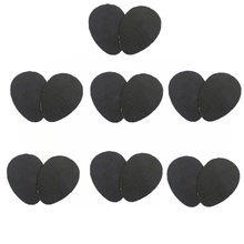 Anti-Slip Rubber Sole Protector Pads Outsole Pads 7 Pairs Self-Adhesive Shoe Grips Non-Slip Noise Reduction Skid Proof Sole Pad