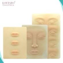 Тренировка латекса 3d бровей тренировка кожи лица губ аксессуары