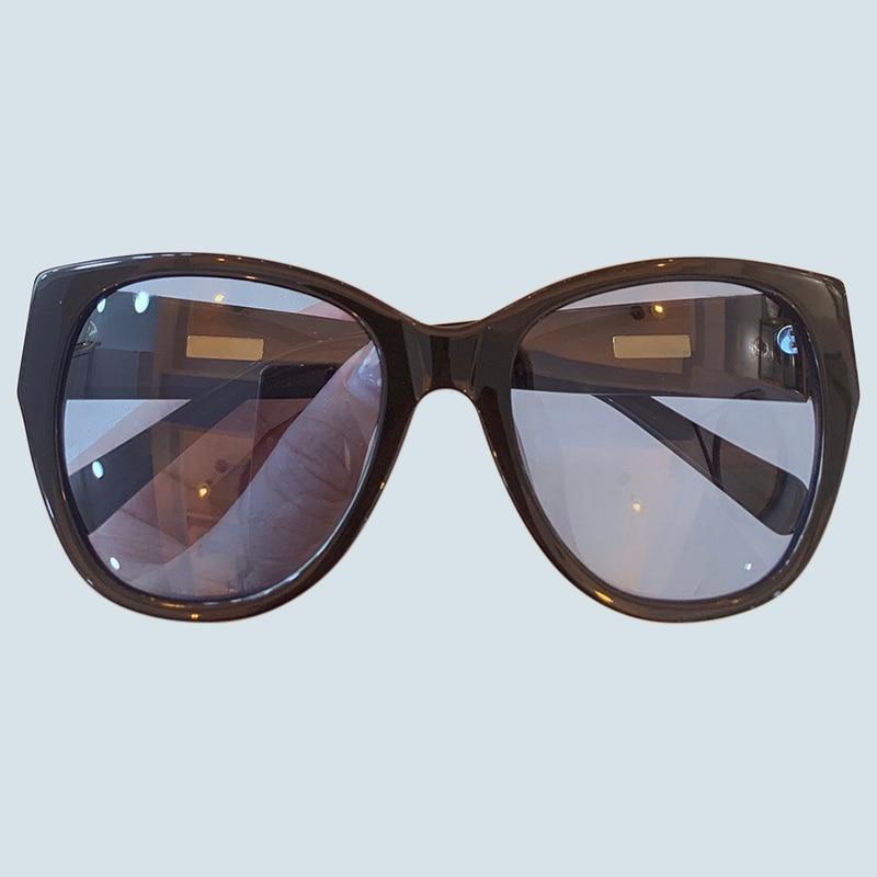 Big Frame Sunglasses Women Retro Brand Designer Cat Eye Sunglasses for Ladies Fashion Black Sun Glasses 2019 Gafas De Sol
