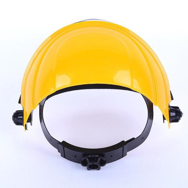 Anti-Saliva Splash Dustproof Mask Transparent PVC Safety Faces Shields Screen Spare Visors Head helmet Respiratory protection 1