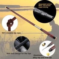 NEUE 3 6 7 2 M Carbon Teleskop Karpfen Angelrute Fisch Hand Angelrute Ultra Leichte Carbon FiberPole Stream Pole set|Angelruten|Sport und Unterhaltung -