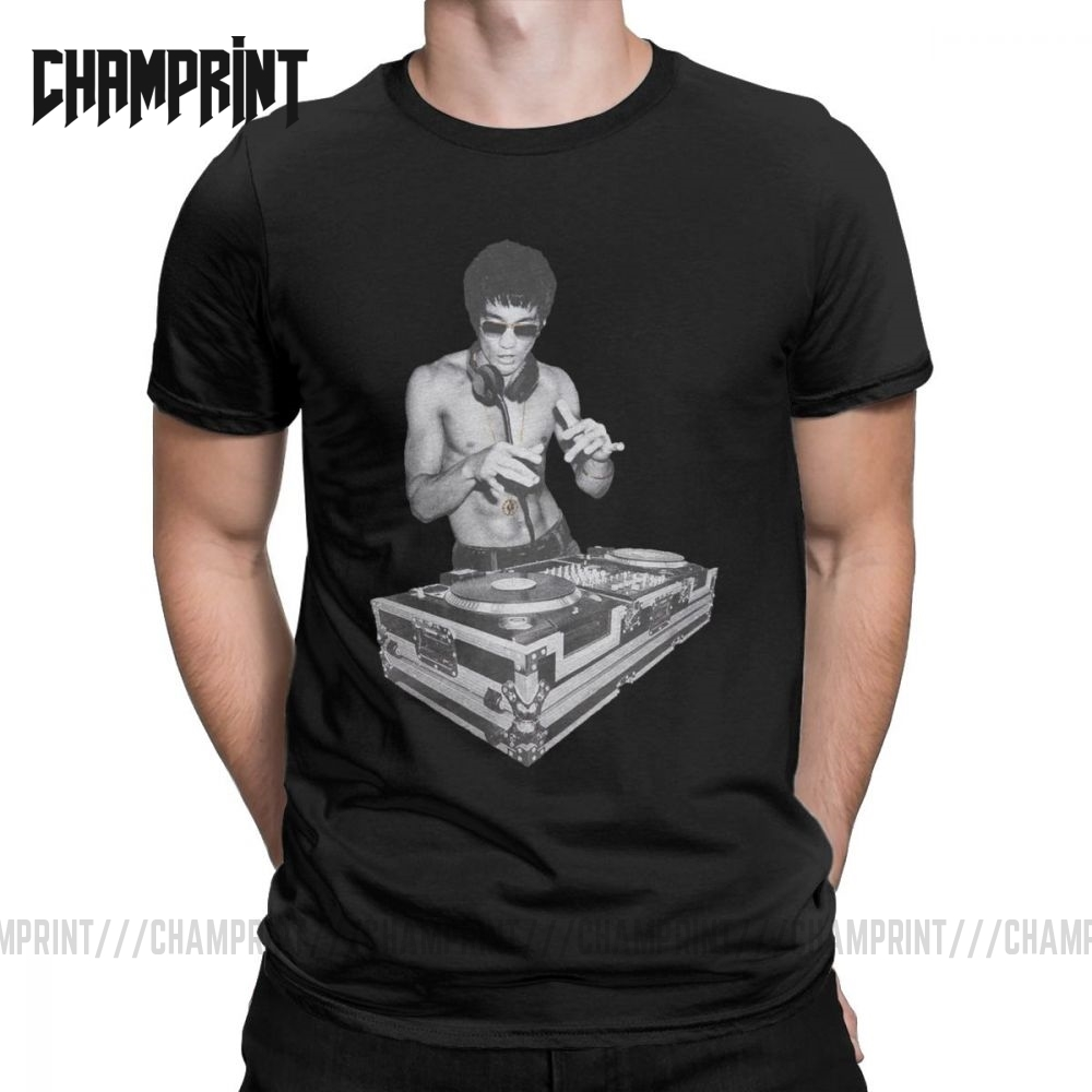NEW bruce lee DJ  T-shirt as in avengers movie