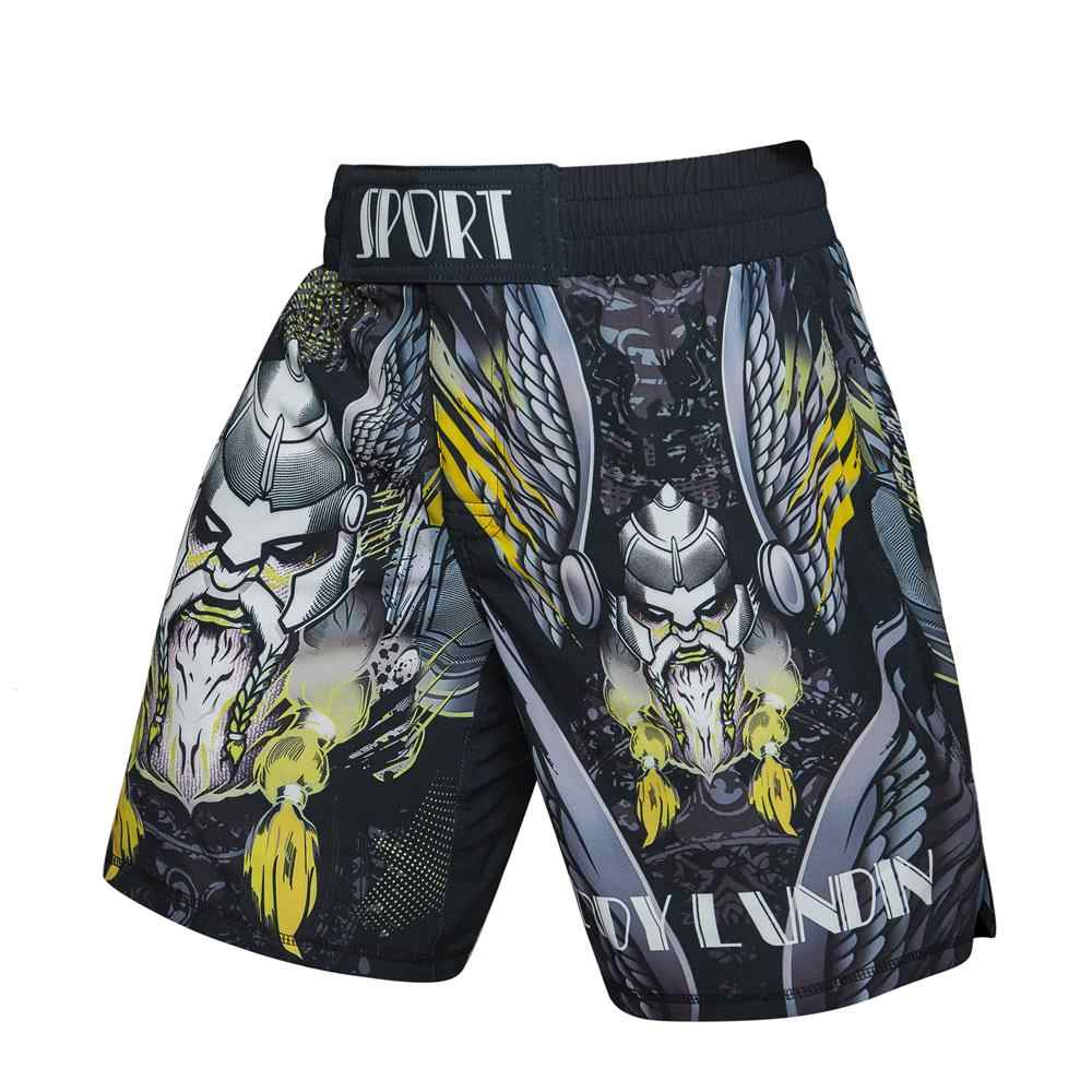 2020 novos calções de boxe compressão calções de secagem rápida 3d orangotango impressão rashguard taekwondo leggings muay thai mma luta