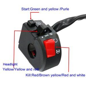 Image 5 - MotoLovee 22mm 오토바이 스위치 오토바이 경적 버튼 회전 신호 전기 안개 램프 라이트 시작 핸들 바 컨트롤러 스위치