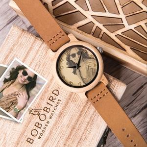 Image 4 - 사용자 정의 시계 개인 사진 인쇄 사용자 정의 커플 시계 남자 여자 크기 나무 선물 상자 아날로그 Relogio Feminino Masculino