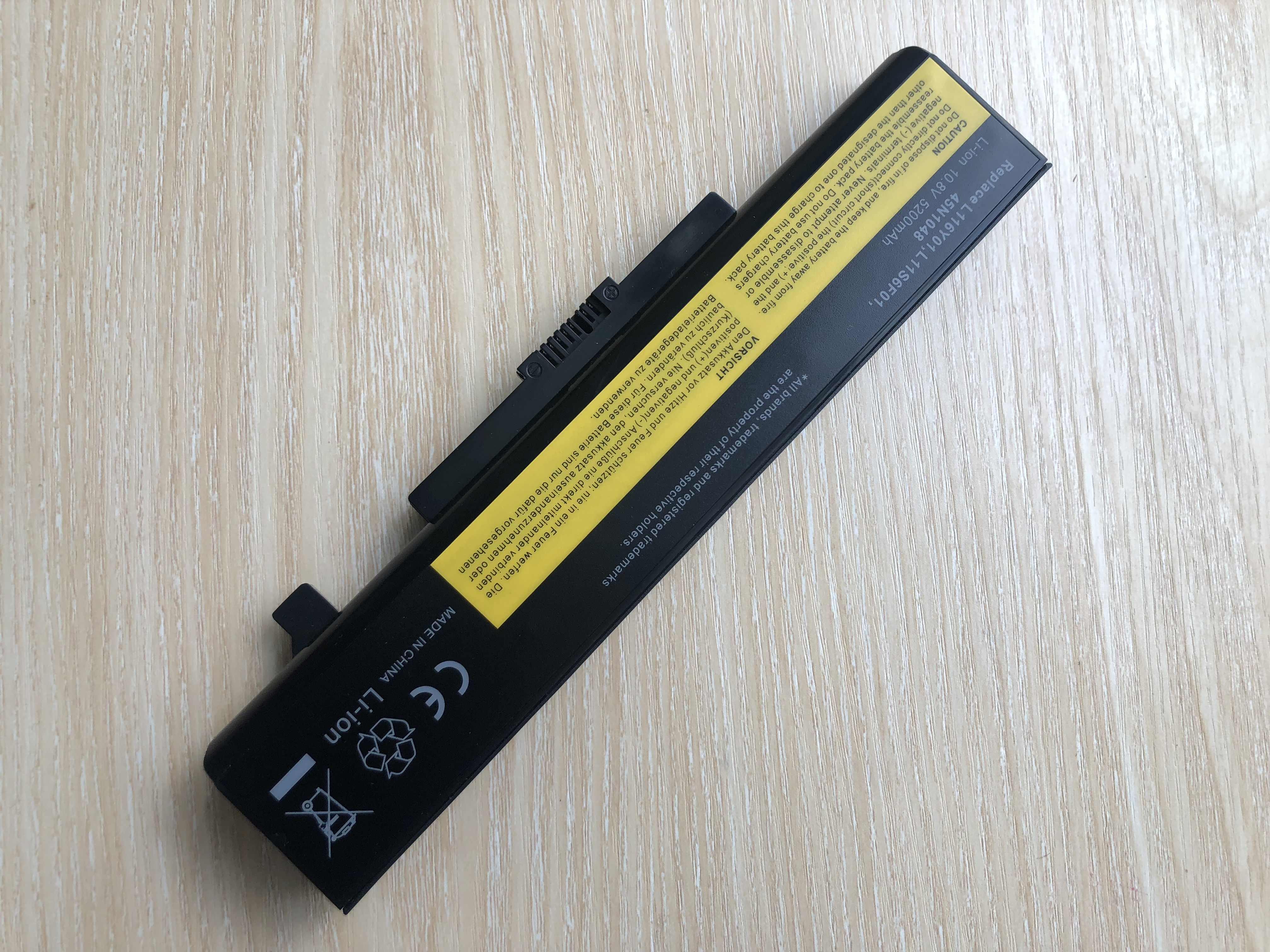 بطارية كمبيوتر محمول لينوفو Y580 Y480 G510 G580 G710 G480 Z480 Z580 Z585 L11M6Y01 L11L6Y01 L11L6F01 L11L6R01 L11N6R01