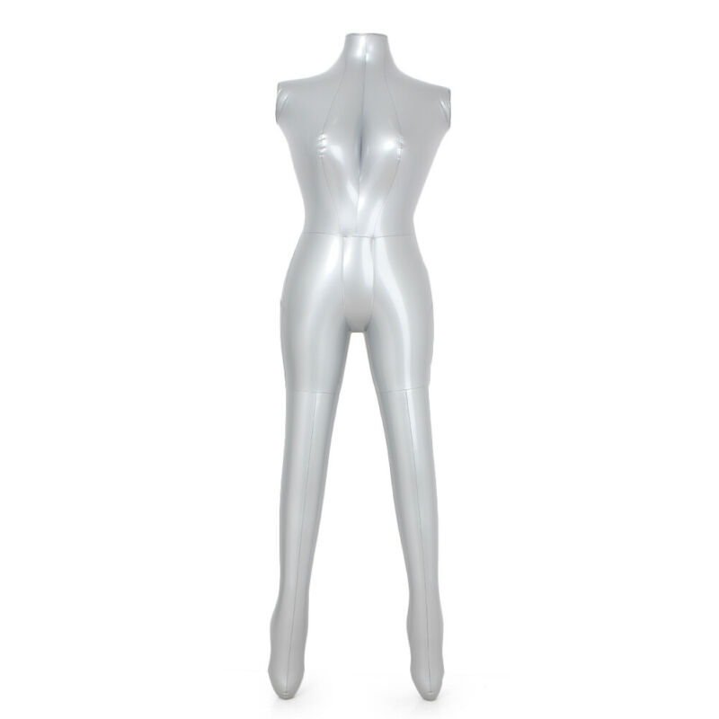 Fashion Female Inflatable Model Dummy Torso Body Mannequin Armless Display 61 PVC Plastic cabeza maniqui