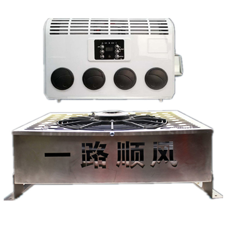 400-800w Auto Air Conditioning 12V 24V Electric Truck Air Conditioner For Car