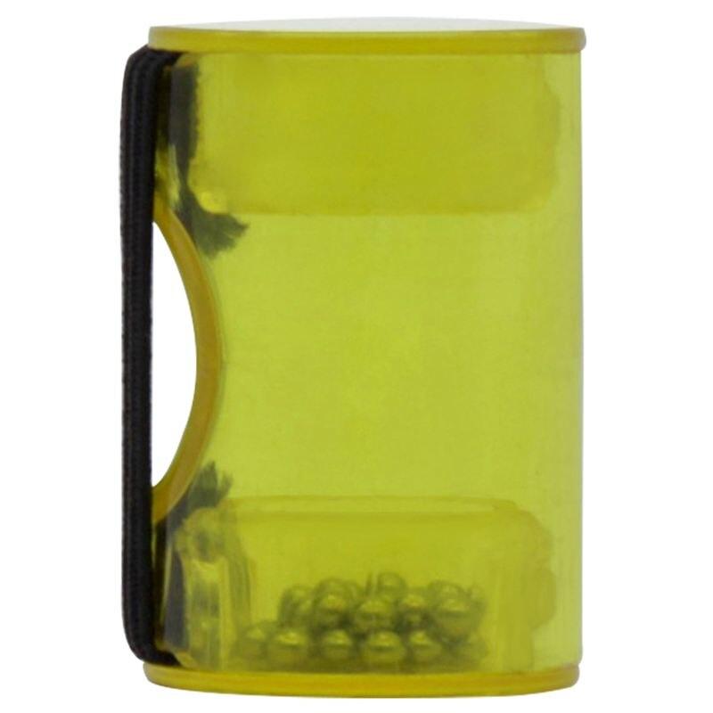 1 Pcs Mini In Size Portable Wear On Finger Hammer Rhythm Maracas Cabasa Finger Ring Guitar Ukulele Sand Shaker Music Toy Yellow
