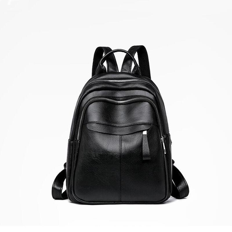 Anti Theft Backpack Women Bags Multifunction Female Backpack Girls Schoolbag Outdoor Travel Backpack Leather Women Backpack