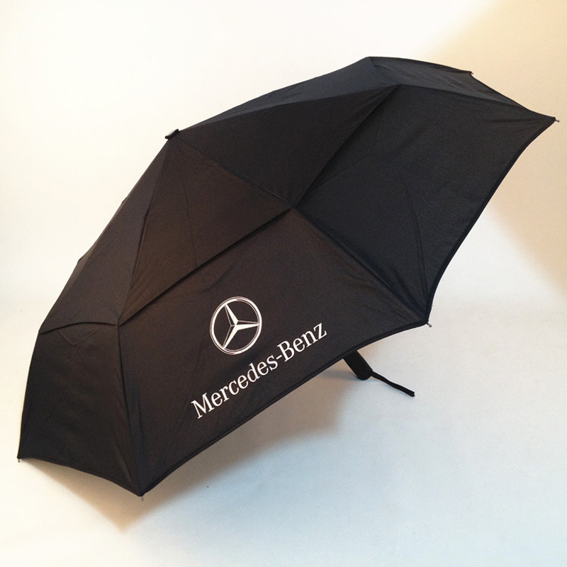Manufacturers Direct Supply Luxury Car 4S Shop Promotional Gift Umbrella Customizable Logo Top Grade Automatic All-Weather Umbre