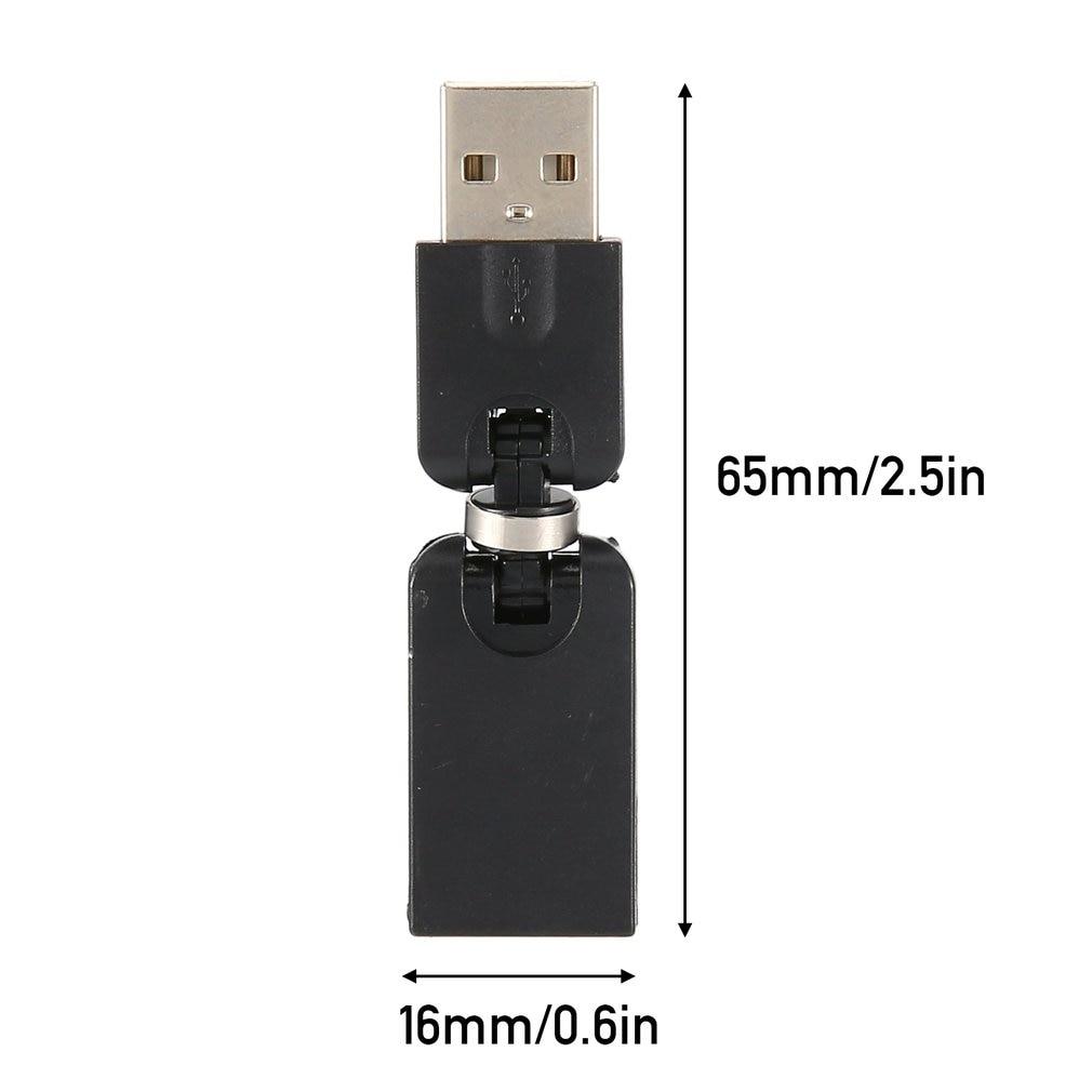 USB 2,0 мужчина к USB Женский 360 градусов угол поворота удлинитель адаптер Горячий