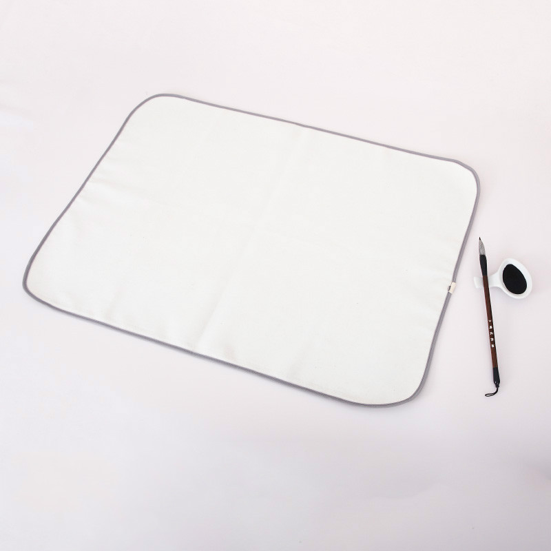 Peinture Feutre Painting Felt Pad Chinese Calligraphy Writing Ink Painting Felt Pads Thick Soft Washable Woolen Table Mat