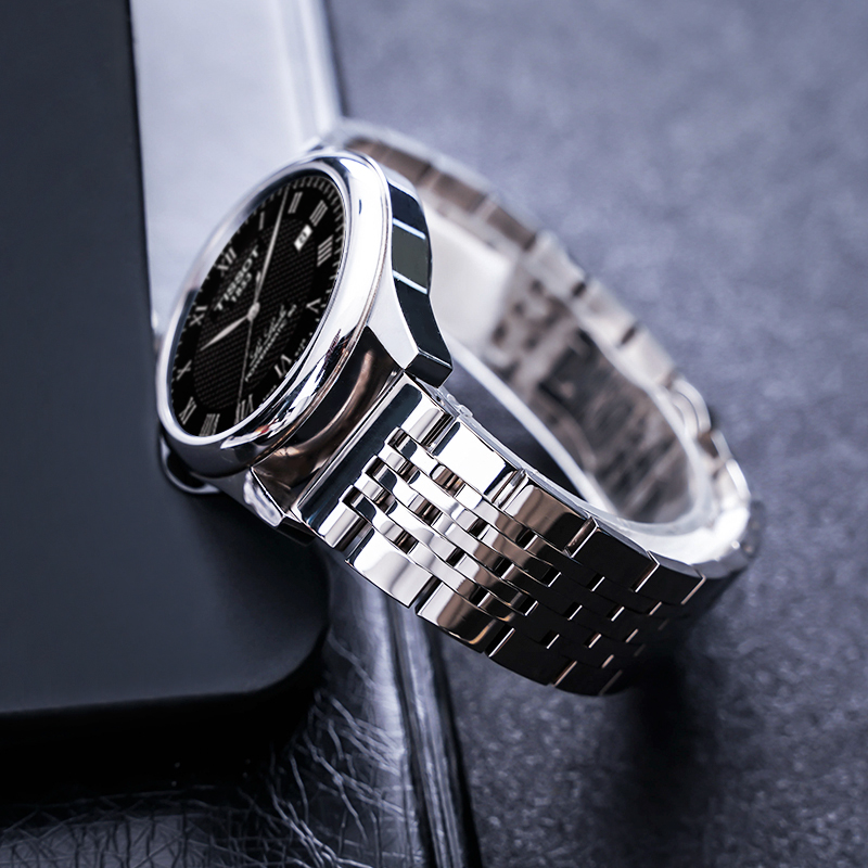 OTMENG Stainless Steel Watch Band 20mm 22mm 24mm Watch Strap Suitable for Tissot T035 <font><b>PRC200</b></font> T055 T097 Watchband Wrist image