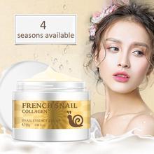 Brand Snail Essence Face Cream Hyaluronic Acid Anti-aging Firm Skin Moisturizer Nourishing Collagen Essence Skin Care Cream 25g недорого