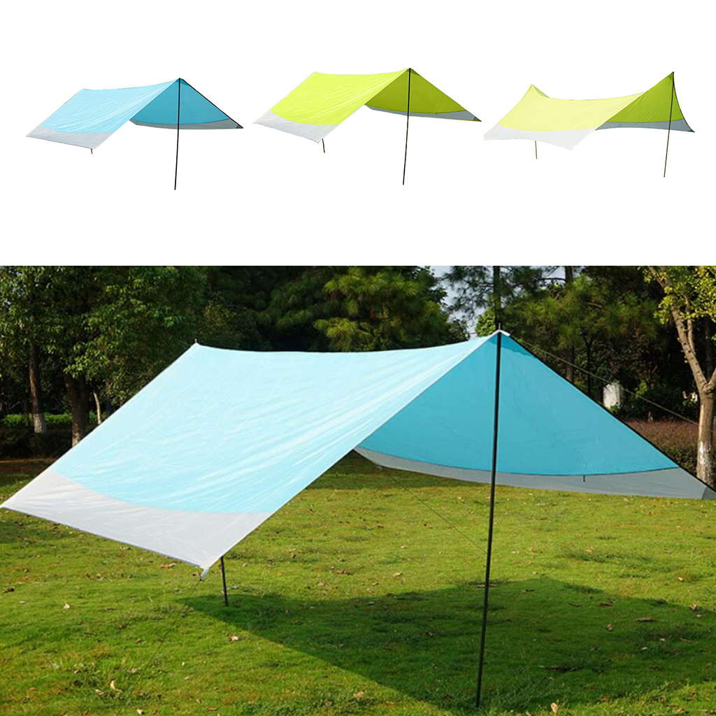 Outdoor Sun Shelter Camping Tent Tarp Camping Tent Cover Waterproof Canopy Awning For Fishing Sunshade Backpacking Rescue Shelter Give Me Shelter From Ranshu 171 5 Dhgate Com