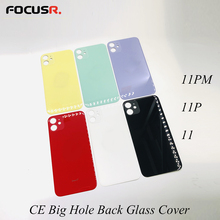 Back-Glass-Cover iPhone 11 Frames Housing Rear CE for 11pro/Max/Mobile-phone/.. Big-Hole