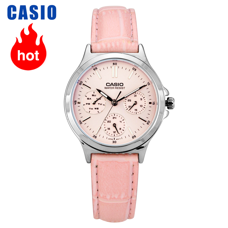 Casio Watch Pointer Series Three Eyes Timing Quartz Watch LTP-V300L-4A