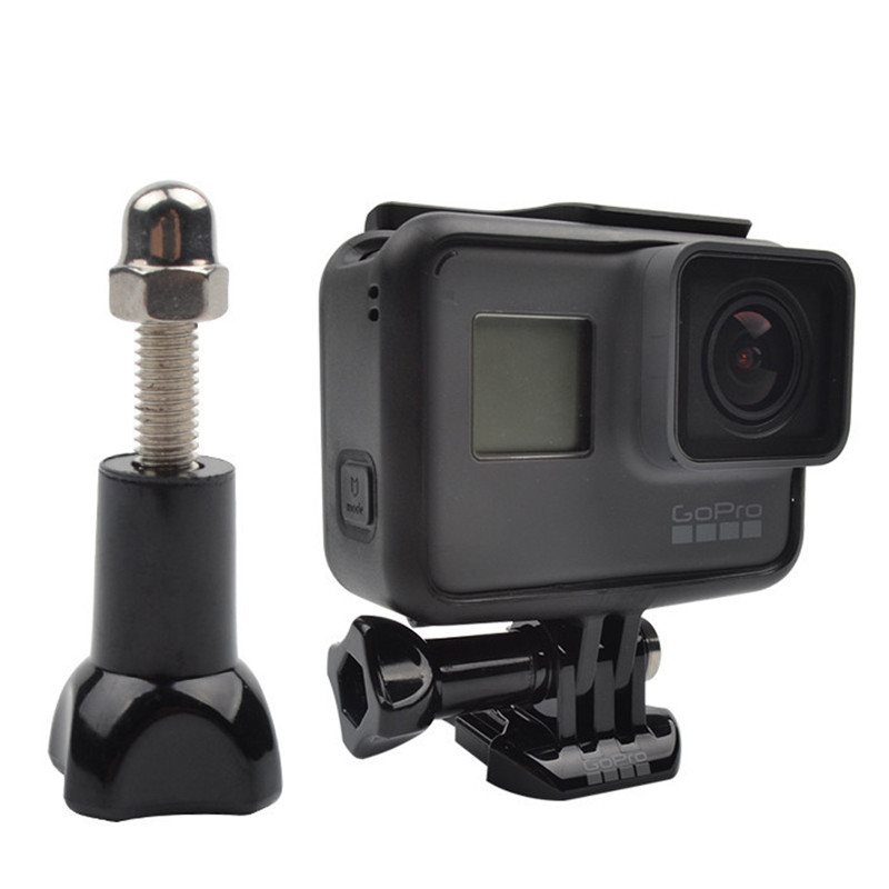 Screw Long Short Nut Mount for GoPro Hero 8/7/6/5/4/3/3+/2/1 Sony Xiaomi Yi 4k Camera