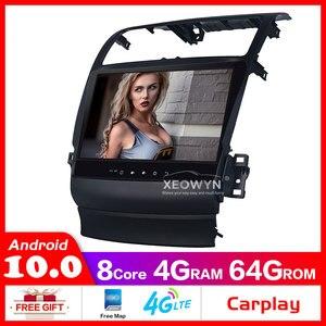 Image 1 - Dahili carplay Android 10.0 octa çekirdekli radyo TSX octa çekirdek 1024*600 araba GPS navigasyon WIFI
