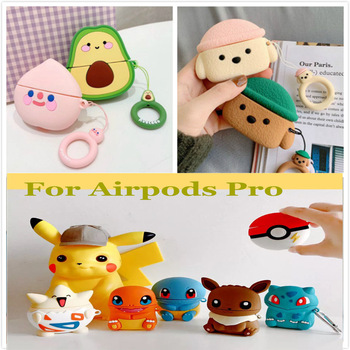 3D Soft Silicone Case for AirPods Pro