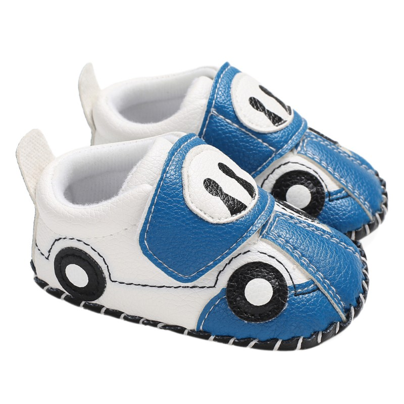 Cute Baby Shoes Newborn Baby Boy Car Cartoon Casual Soft Bottom The First Walker Fashion Children\'s Shoes