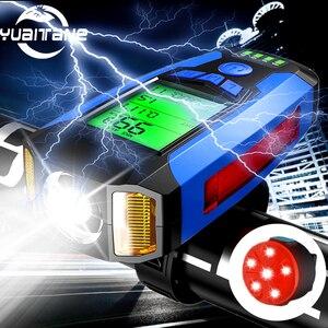 USB Rechargeable Bike light Bi