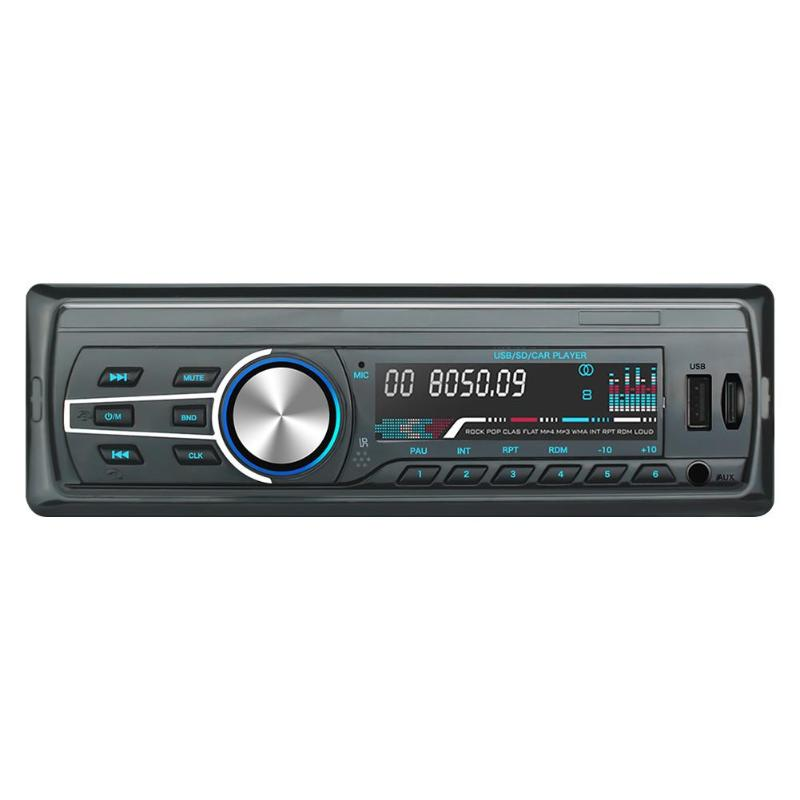 <font><b>Car</b></font> Radio <font><b>1</b></font> <font><b>Din</b></font> Autoradio <font><b>Car</b></font> <font><b>Audio</b></font> In-Dash Stereo <font><b>Audio</b></font> USB FM Radio Bluetooth Hands-free Head Unit MP3 Music Player image